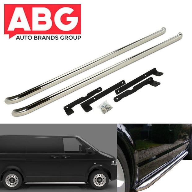 VW Transporter T5 SWB 2003 to 2015 Side Bars