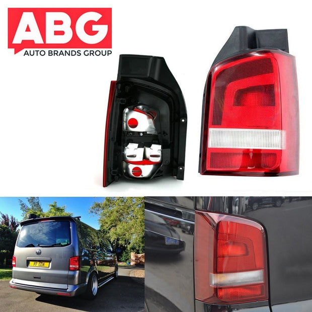 VW Transporter T5 T6 Rear Back Tail Light Lamp Lens Caravelle 2010 On Right O/s