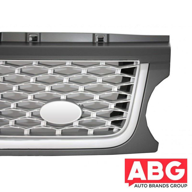 For Range Rover Vogue L322 2010-2012 Grille Autobiography Style Vent Grey Chrome