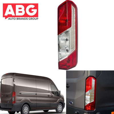 Ford Transit Mk8 2014 On Rear Tail Light Lamp Lens - Right O/S Driver Side