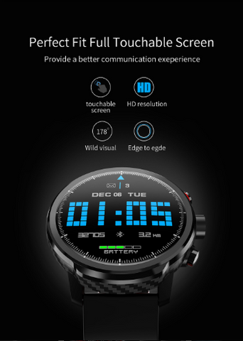 Smartwatch montre intelligente fusion connectée ip 68 smart watch android ios huawei samsung xiaomi apple iwatch