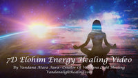 7D Elohim Energy Healing MP4 Video