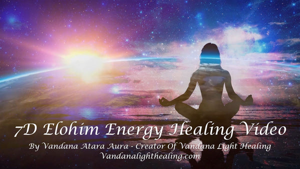 7D Elohim Energy Healing, Animated MP4 Video - FREE SAMPLE