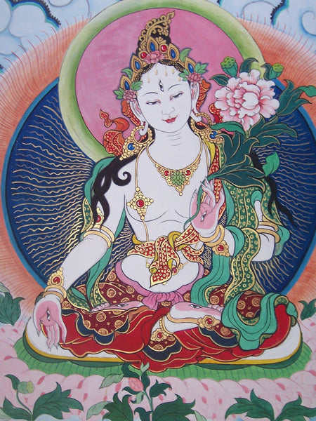 White Tara Womb Purification Transmission - For Health, Long Life & Limitless Energy
