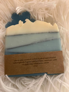 Cedar and Bennett Hand Made First Frost Soap