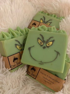 Cedar and Bennett Hand Made You're a Mean One Soap
