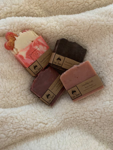 Valentines soap package