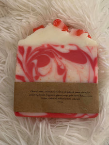 Cedar and Bennett Hand Made Merry Mint Soap