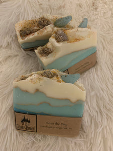 Cedar and Bennett Seas The Day Soap