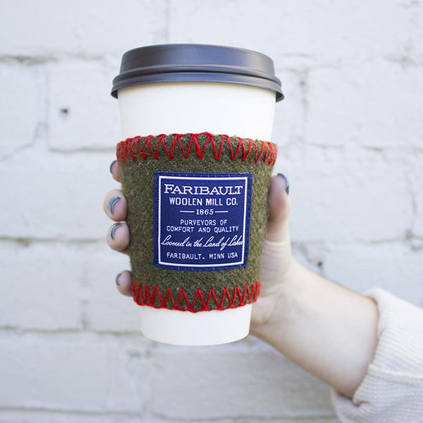Faribault Woolen Mill Coffee Sleeve