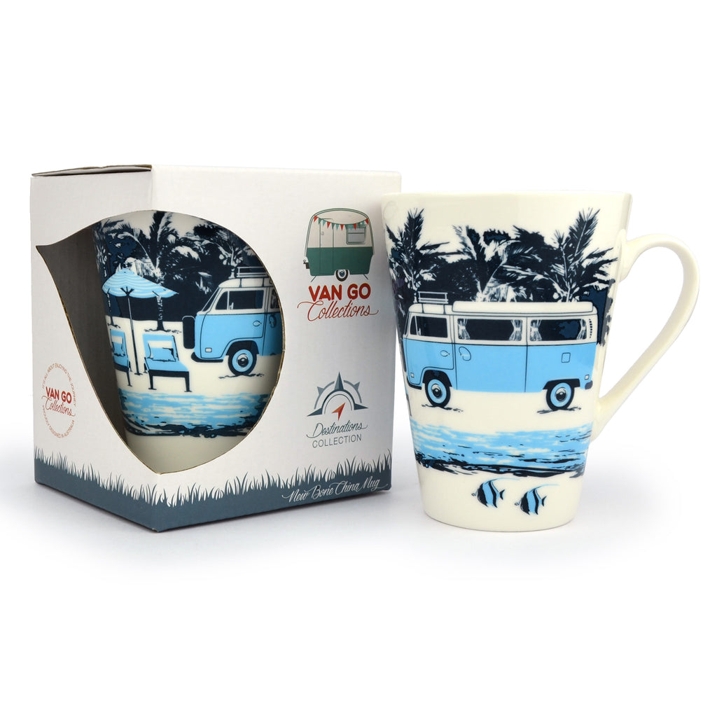 Puzzle Time Gift Pack | Camp Out on the Lake + Hippy Days Mugs
