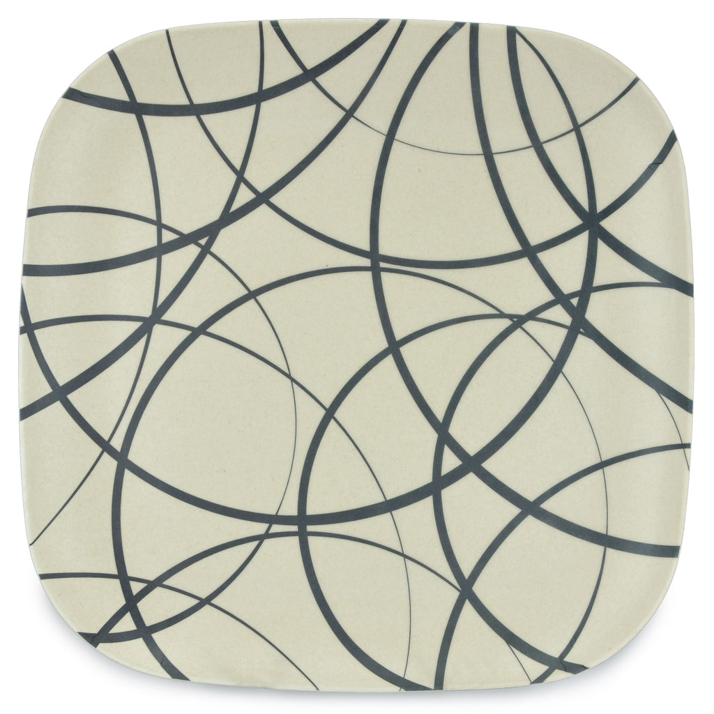 Bamboo Plate | 26cm | Go Bamboo 'Circles'