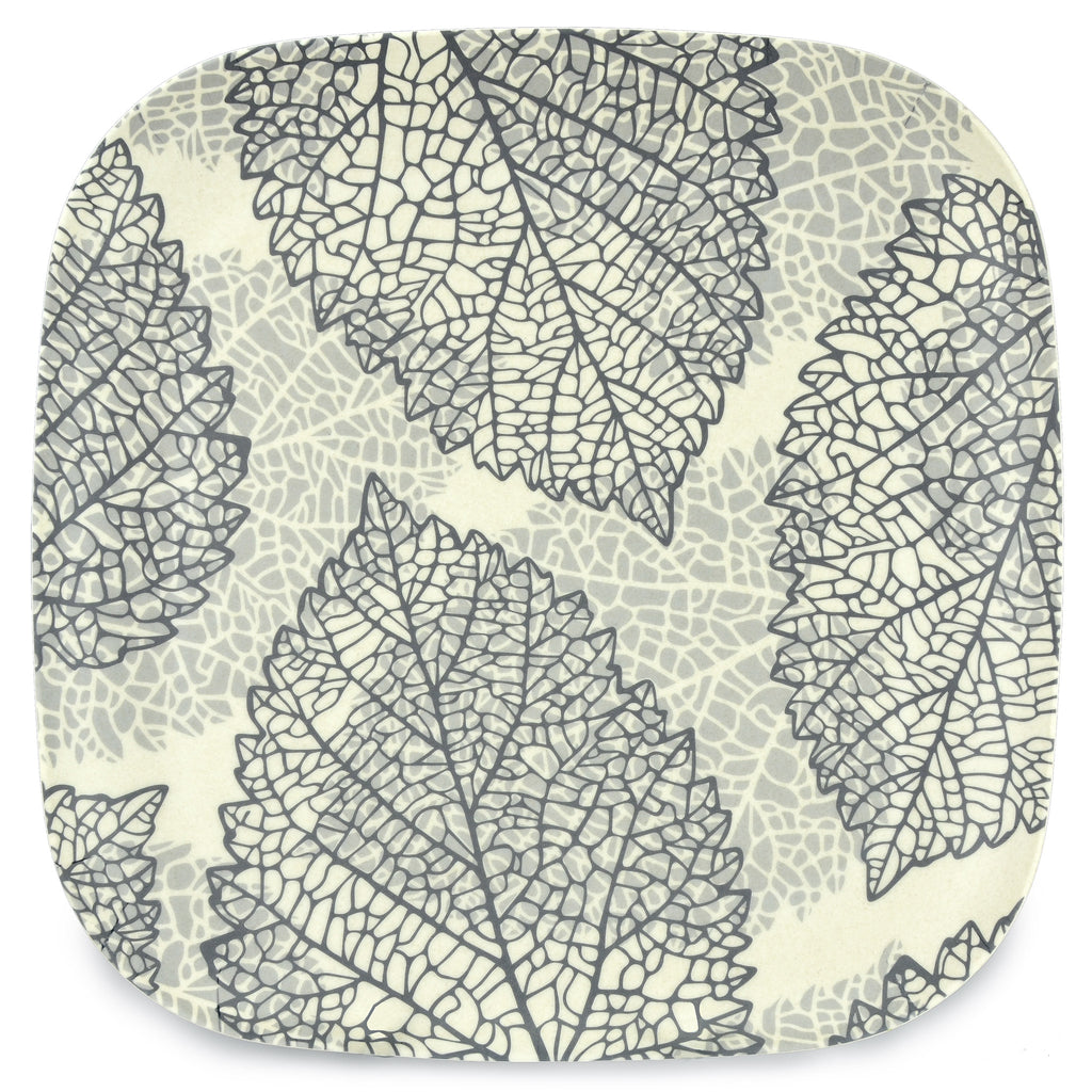 Bamboo Plate | 26cm | Go Bamboo 'Falling Leaves'