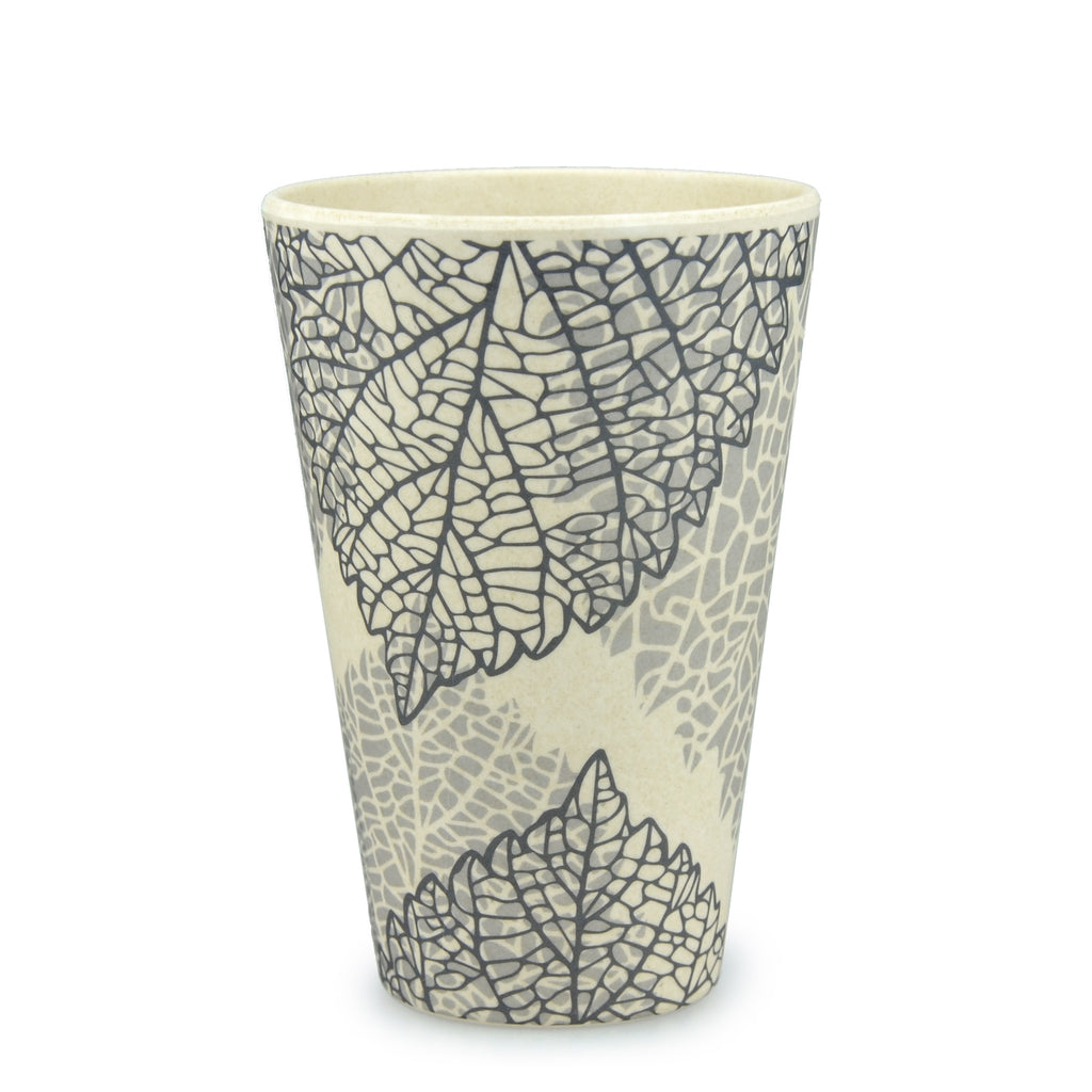 Bamboo Tumbler | 400ml | Go Bamboo 'Falling Leaves'