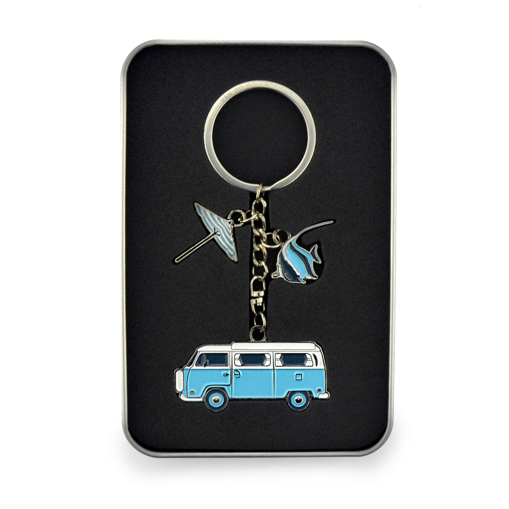 Keyring | Van Go Collections 'Hippy Caravan' Design