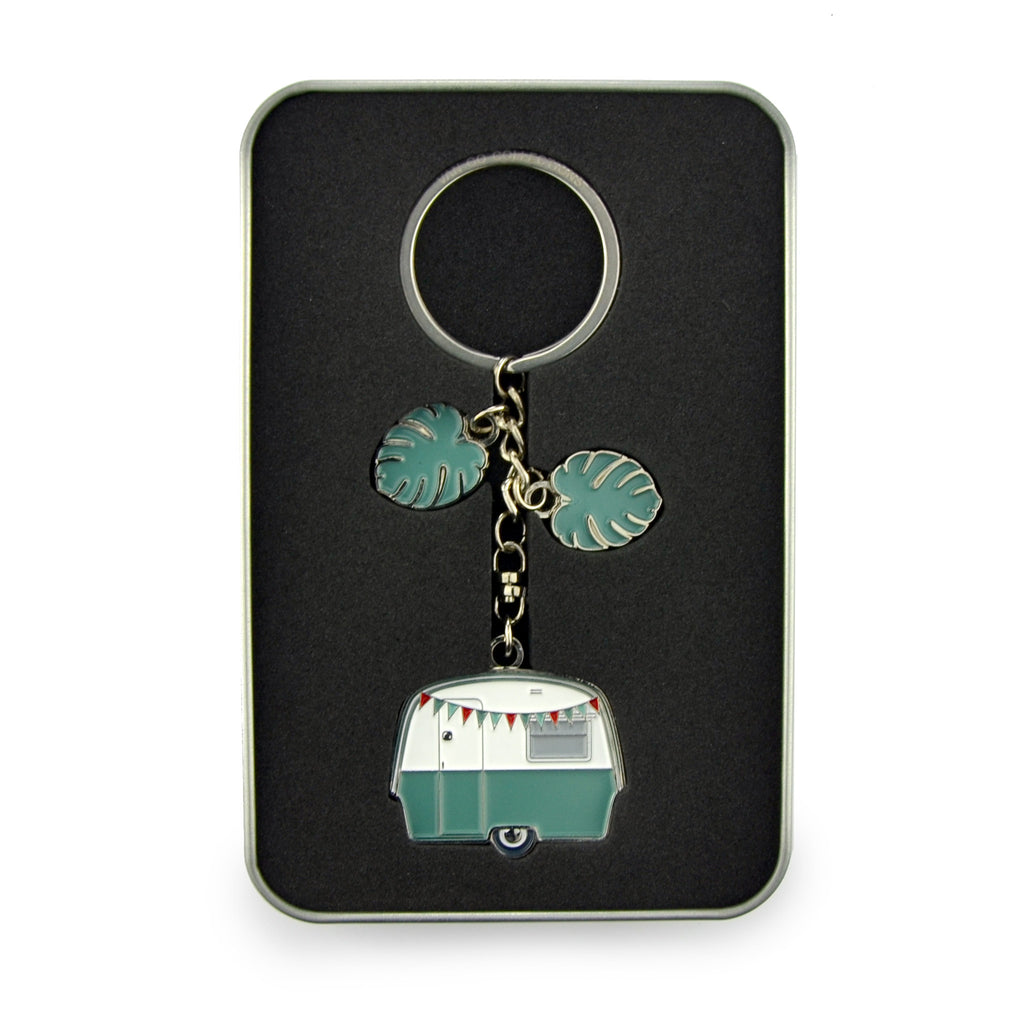 Keyring | Van Go Collections 'Magical Mini' Caravan Design