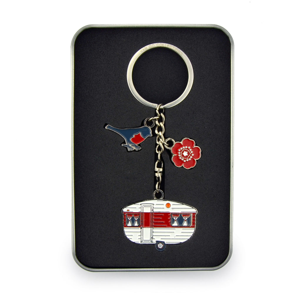 Keyring | Van Go Collections 'Mini Caravan' Design