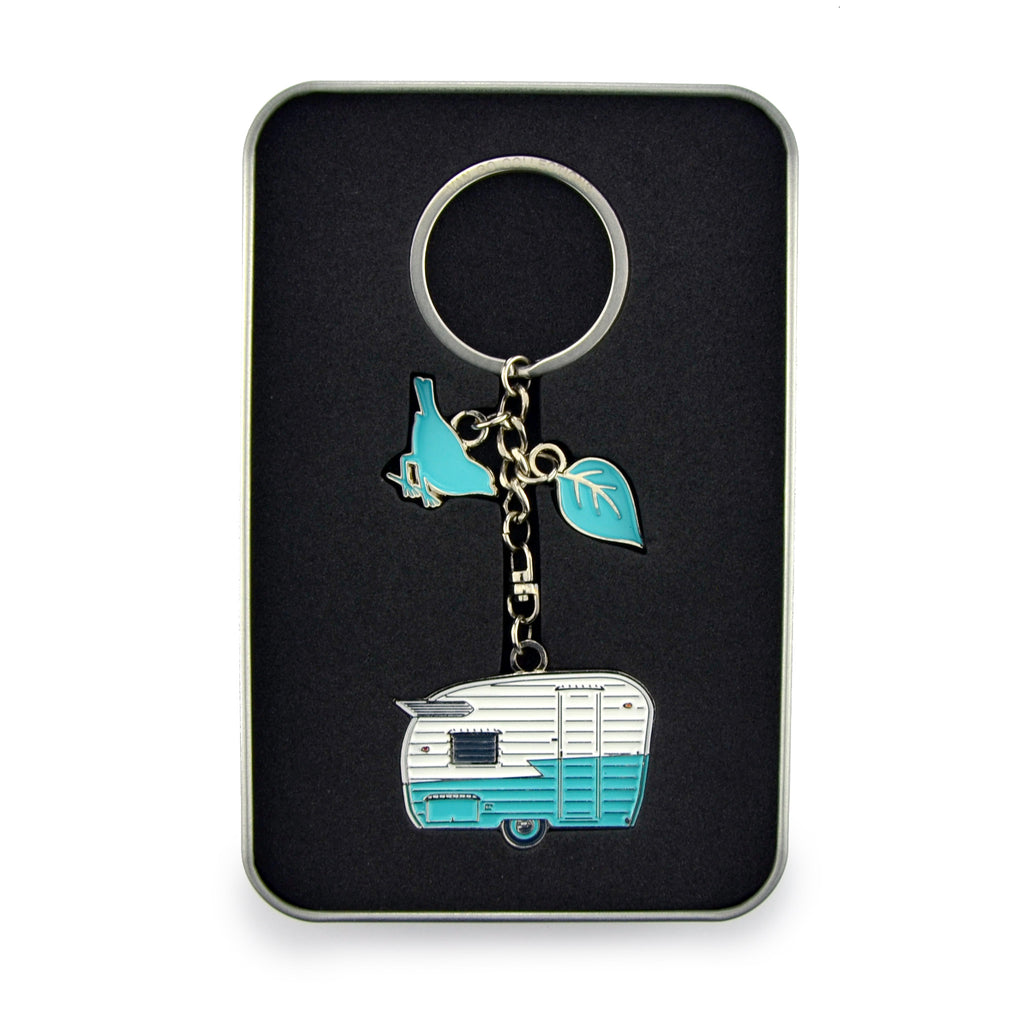 Keyring | Van Go Collections 'Wings Caravan' Design