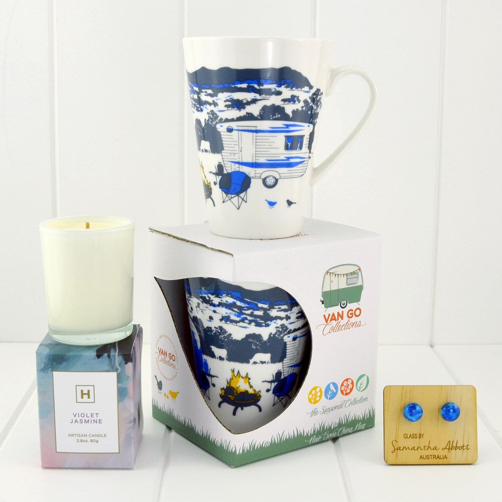 Travel Calm Gift Pack - Winter Blue