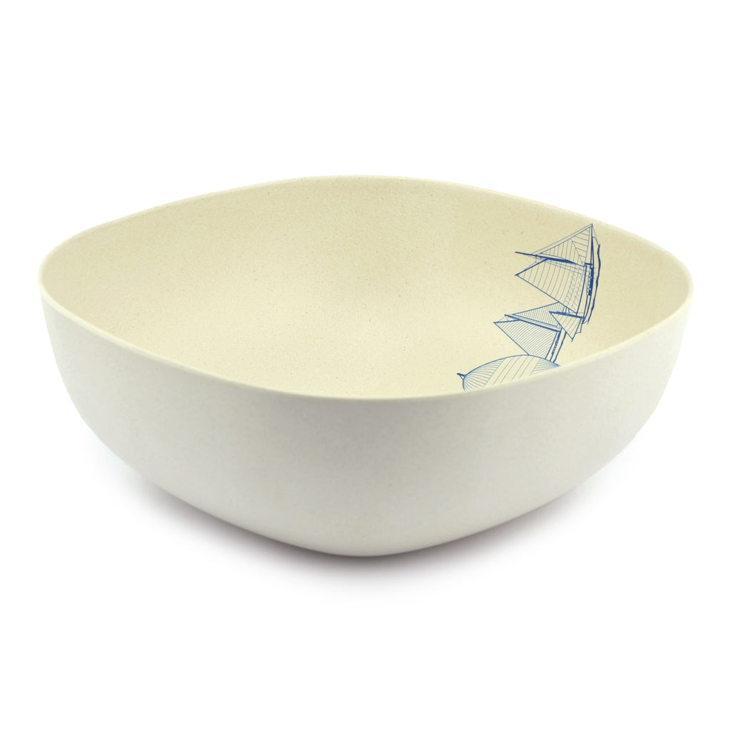 Bamboo Salad Bowl | 23cm | NautiGo 'Sail Away'