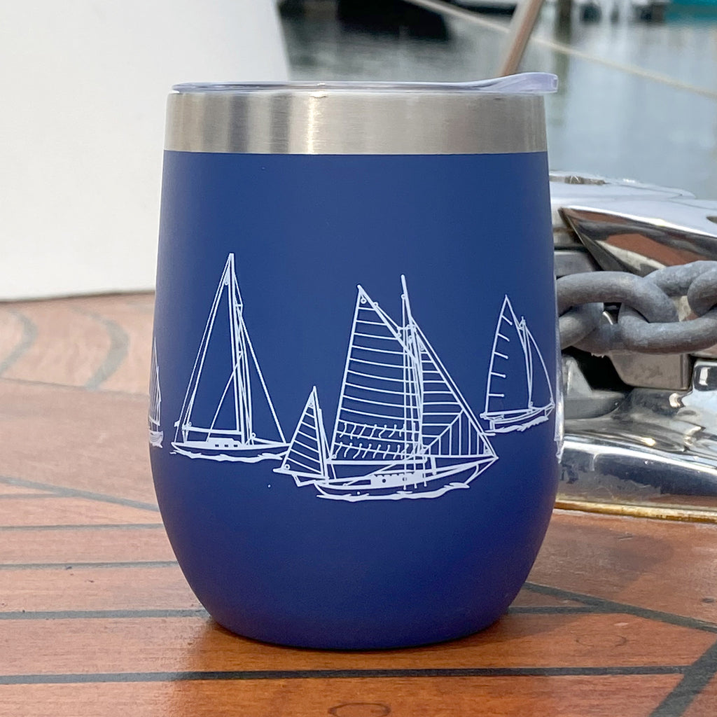 Stainless Steel Wine Cup | NautiGo | Sail Away