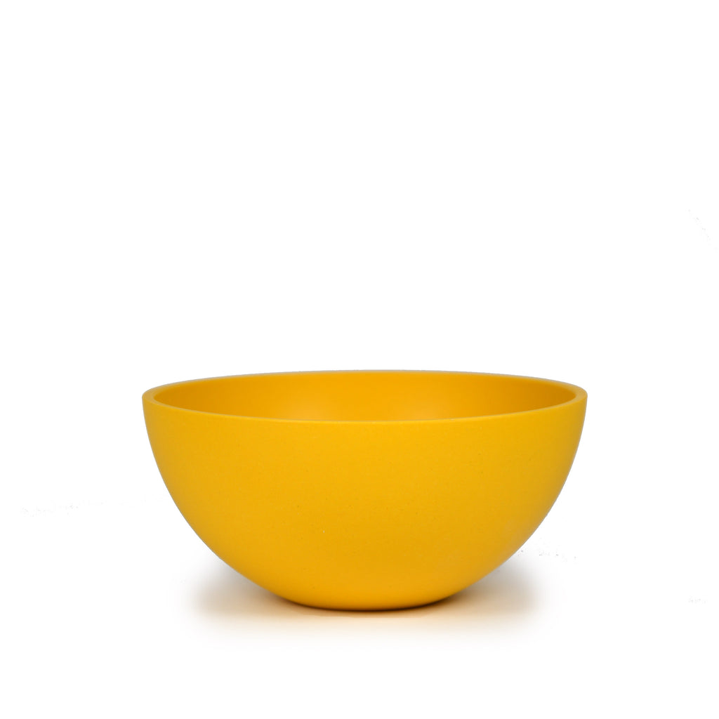 Bamboo Cereal Bowl | Round 15cm | Yellow