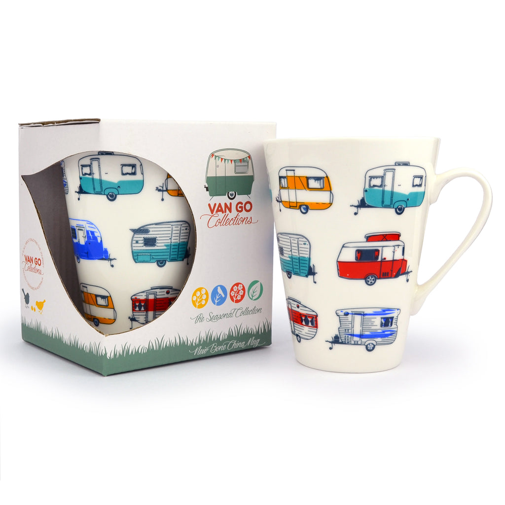 China Mug | Seasonal Collection Caravans