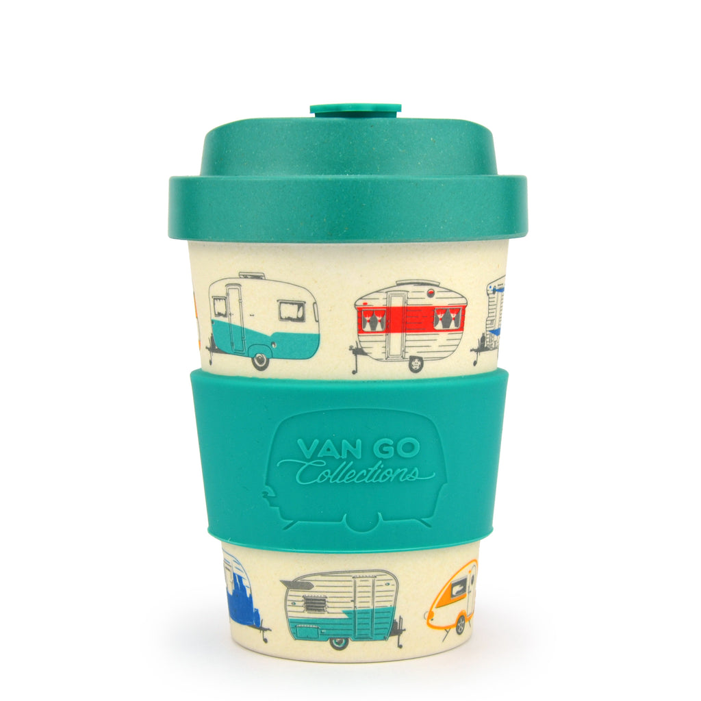 Bamboo Travel Mug | 300ml | Van Go Collections 'Summer' Green