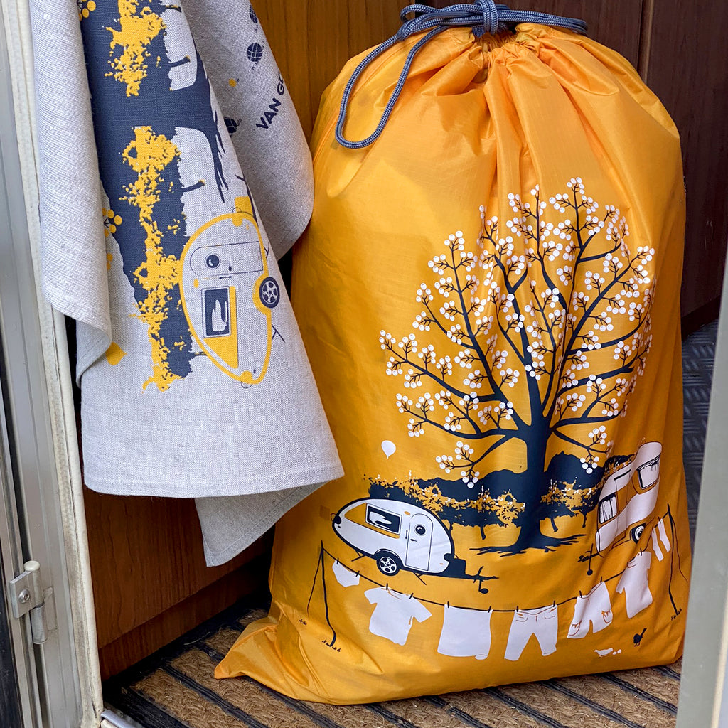 Expandable Laundry Bag | Seasonal Collection | Autumn Yellow