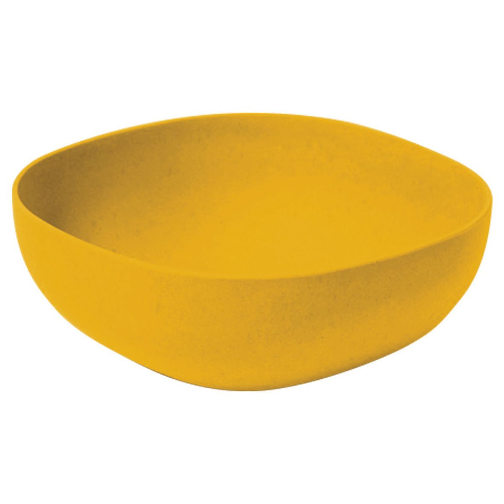 Bamboo Salad Bowl | 23cm | Yellow