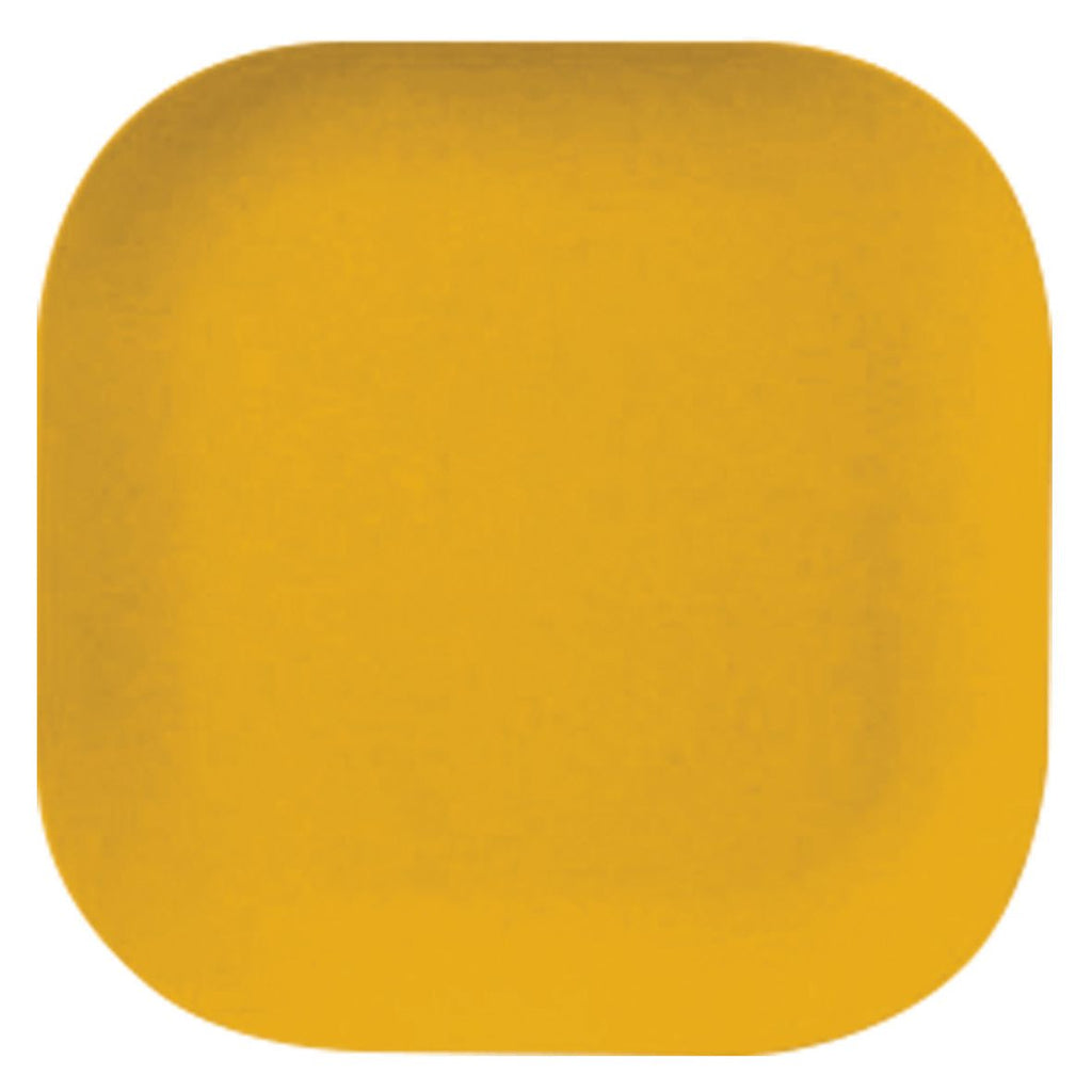 Bamboo  Plate | 26cm | Yellow