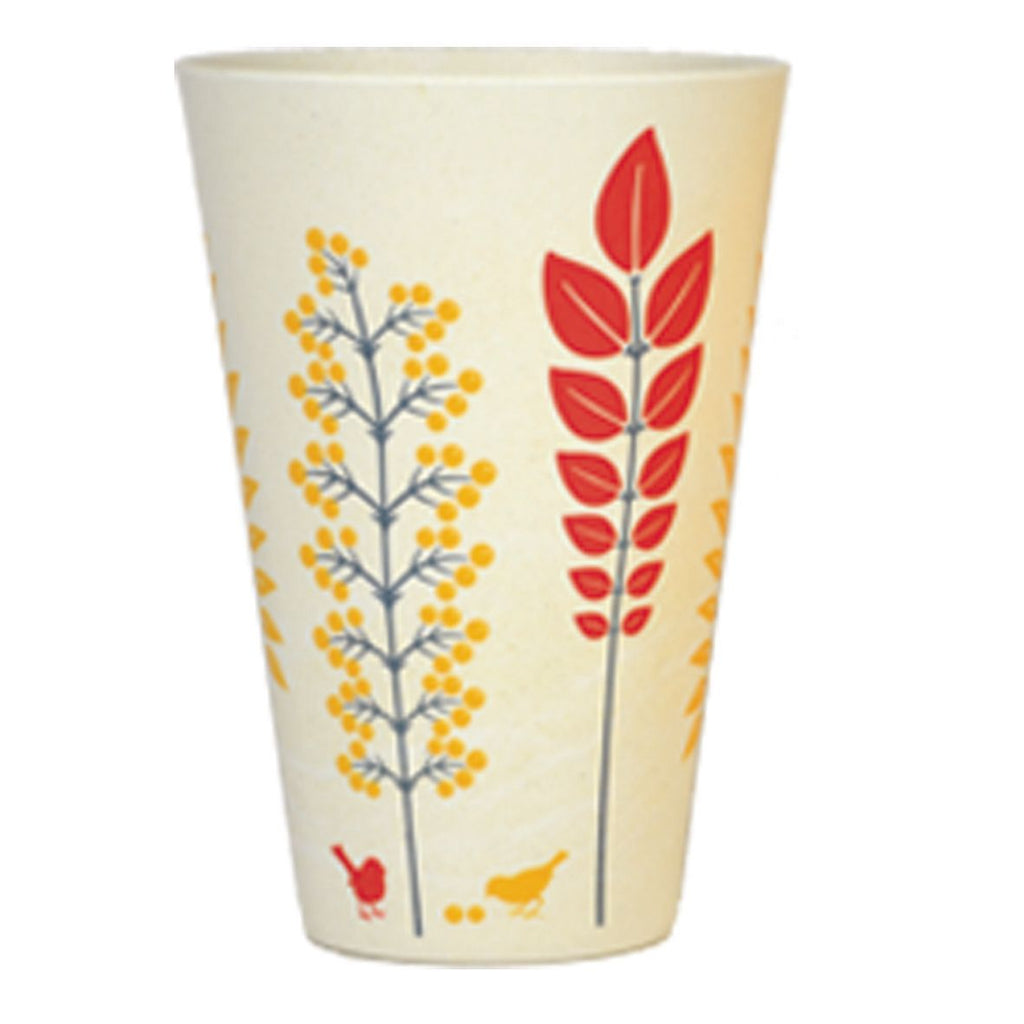 Bamboo Tumbler | 400ml | Autumn Yellow
