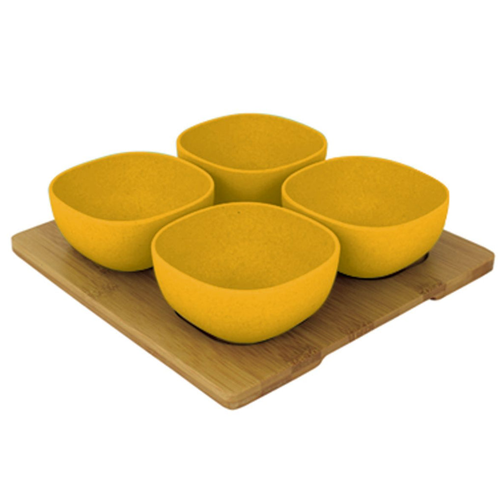 Bamboo Entertainment Platter | Yellow