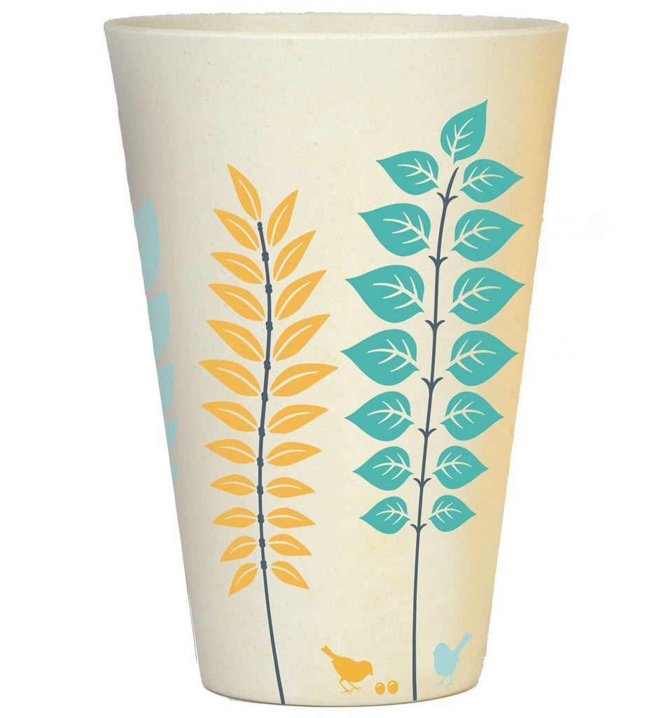 Bamboo Tumbler | 400ml | Summer Green