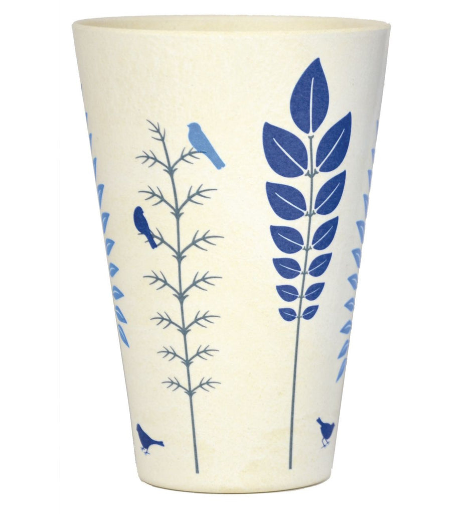 Bamboo Tumbler| 400ml | Winter Blue