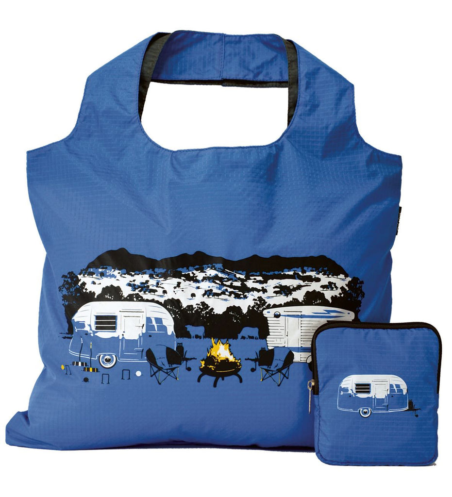 Handy Tote Bag | Seasonal Collection | Winter Blue