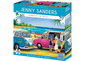 Jigsaw Puzzle - Jenny Sanders 'Blue Kombi and Mr Whippy'