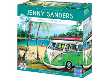 Puzzle Time Gift Pack | Peppermint Kombi + Hippy Days Mugs