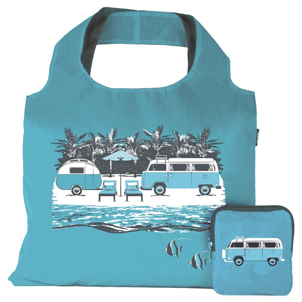 Handy Tote Bag | Hippy Days Pale Blue