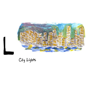 L is for City Lights. The Manhattan skyline is one of the most iconic in the world.