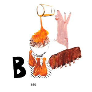 B is for BBQ. It is an age-old debate but ask any South Carolinian, and they'll tell you with conviction that this is the birthplace of BBQ, regardless of sauce preference.