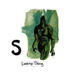 S is for Swamp Thing. The Wes Craven movie, Swamp Thing, was filmed entirely in Charleston in 1982.