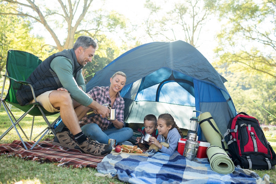 Family camping trip? Be Prepared