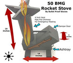 Rocket Stove Tent Heater