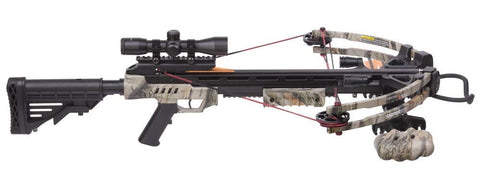 CenterPoint Sniper 370 - Camo Crossbow Package