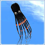 3D 24ft Large Octopus Paul Parafoil Kite