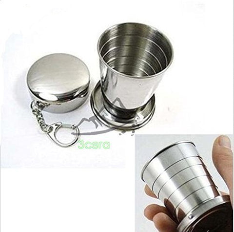Collapsible Metal Telescopic Cup