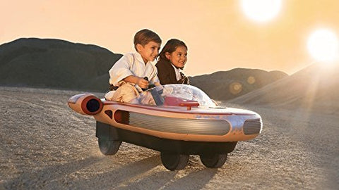 Star Wars Luke Skywalker' s Landspeeder Ride On