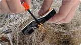 6-In-1 Pocket Knife Sharpener & Survival Tool, with Fire Starter & Whistle