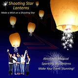 Shooting Star Sky Lanterns